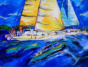 """The Power of The Sail"""